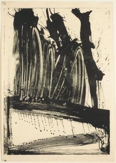 Willem De Kooning, Untitled (Waves II), 1960, Lithograph