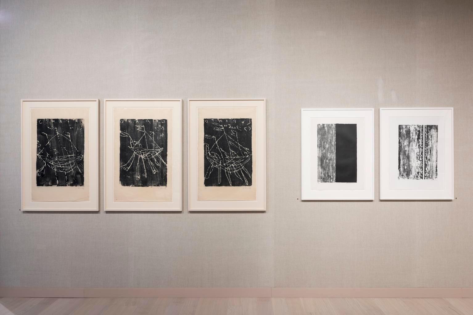 The Art Basel 2018 display