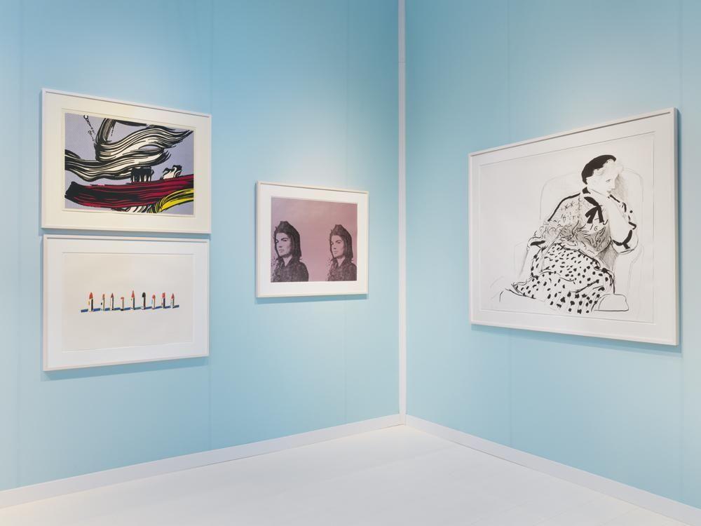 The IFPDA Print Fair 2018 at the Susan Sheehan Gallery