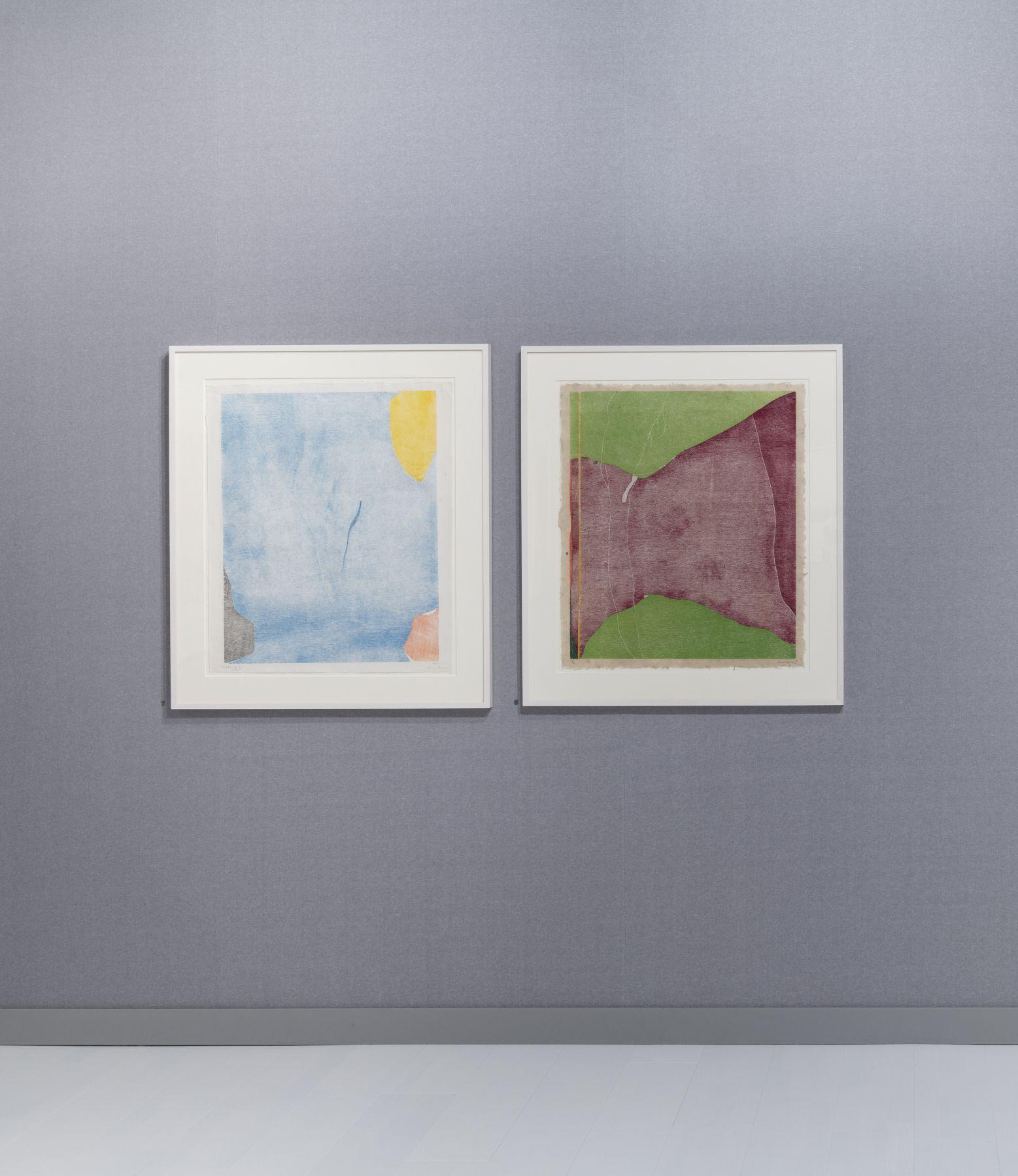The Art Basel 2019 display at Susan Sheehan Gallery